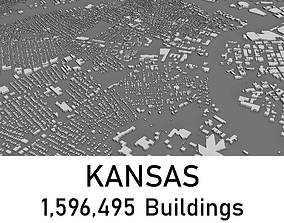Kansas - 1596495 3D Buildings VR / AR ready