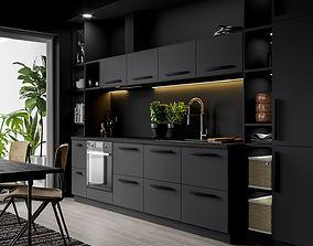3D IKEA Kitchen Scene