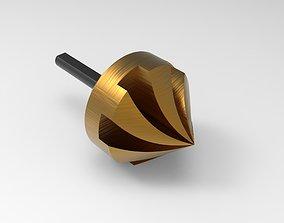 3D model Countersink Power Drill Bit drill