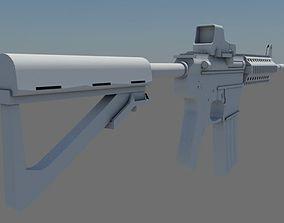 M4A1 Eotech 553 3D model