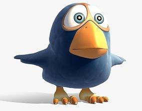 3D Birdie Rigged