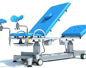 3D Gynecological Examination Table