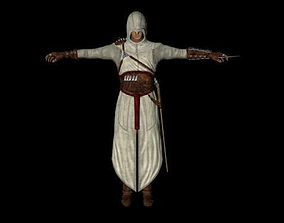 Altair the Assassin 3D asset