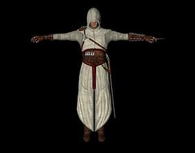 Altair the Assassin 3D asset