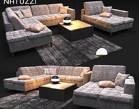 3D Sofa NATUZZI Sawoy 2458
