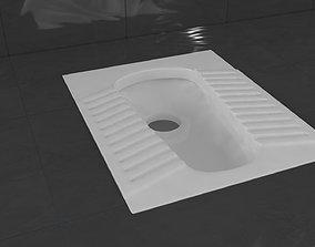 Squat Toilet Alaturka Closet 3D model