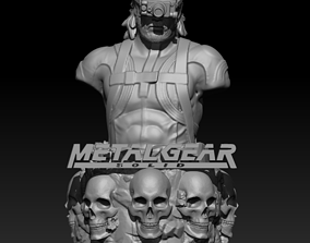 Metal Gear Solid Snake 3D