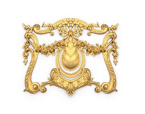 3D print model Classic decor ornament 61