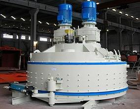 JN1500 Planetary Concrete Mixers 3D MODEL