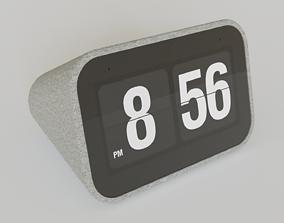 Smart Clock with Google Assistant 3D