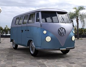 Volkswagen Combi for DAZ Studio 3D