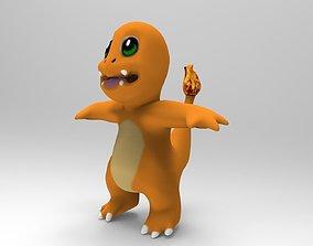 3D asset Charmander Pokemon
