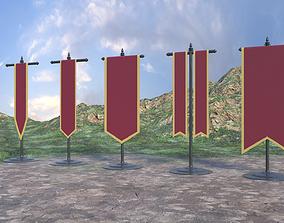 Medieval Banner 3D