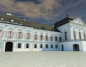 3D Presidential palace - Bratislava Slovakia