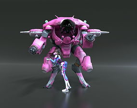DVa and Meka 3D printable model