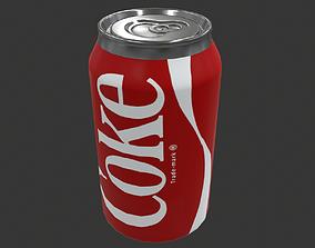 3D asset Coca Cola Coke Can