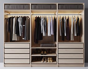 wardrobe clothes 3D stockier