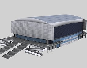 3D model Stadium curling center