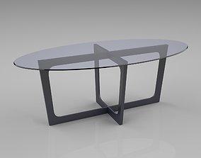 3D Ellipse table
