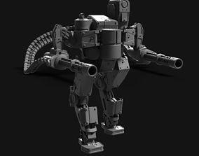 Sci fi robot 3D print model