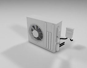 3D model air conditioning - External Unit
