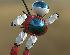 3D model Robot 03 Pose PBR
