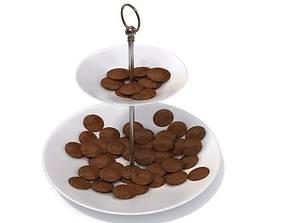 3D model Novel Melamine Cookie Stand