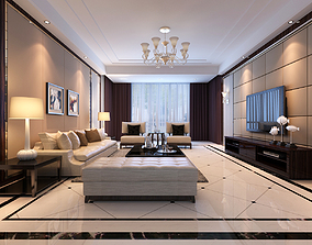 Living Room Scene 17 3D