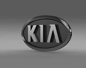 3D model Kia motors logo