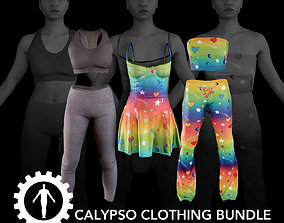 Calypso Clothing Bundle 3D asset