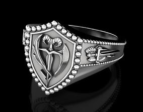 3D print model Order of the Sword ring