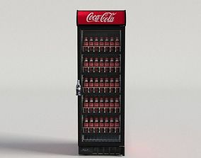 Coca-Cola Vending Machine 4 3D asset