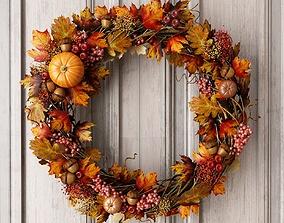 3D Autumn Wreath
