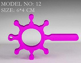 3D print model contactless safety door opener