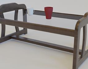 Table - Glass 3D model