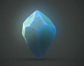 3D model Magic crystals PBR