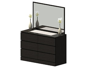 3D dressing drawer Dressing table