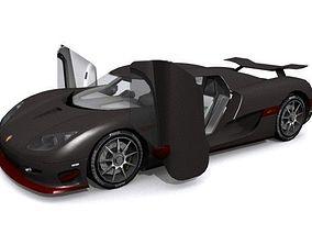 Koenigsegg CCXR 3D asset