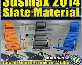 3ds max 2014 Slate Material v 9 Italiano cd
