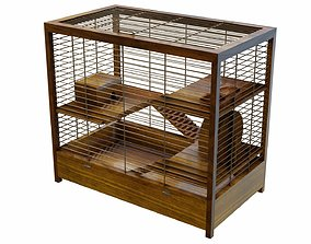 3D PBR Hamster cage
