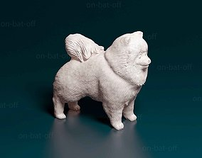 Pomeranian dog 3D print model