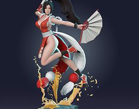 3D printable model Mai - King of Fighter