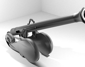 Cannon - Malay Lantaka 3D model