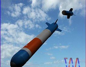 3D asset RUR-5 ARSOC Missile