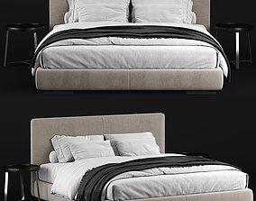 Flexform Magnum bed 3D