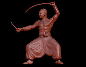 Cossack statue model soldier