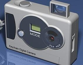 3D model Keychain Digital Camera