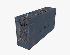 3D AMMO BOX GERMAN WW2 GREY