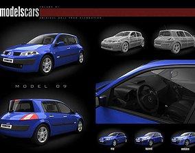 3D Renault Megane Ii Car