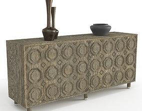 Alhambra credenza by Bernhardt 3D model